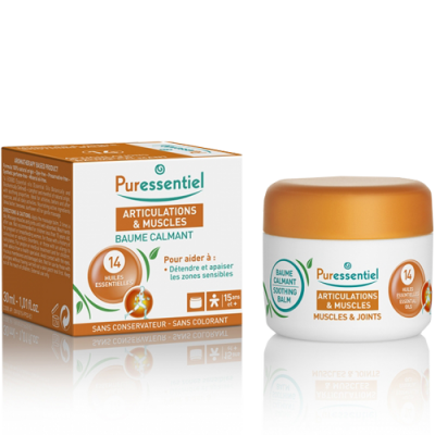 Muscles & Joints Soothing Balm with 14 Essential oils